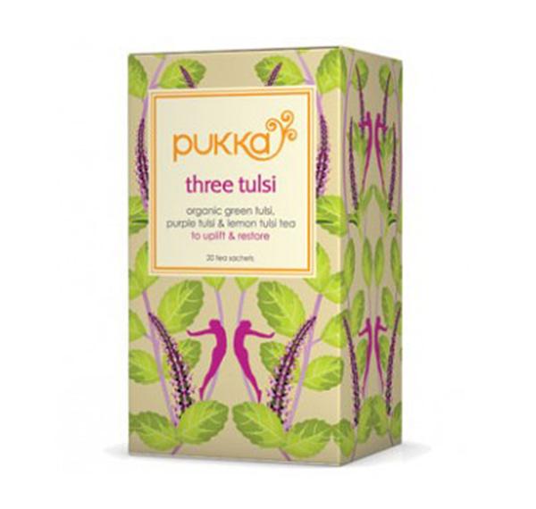 Three Tulsi - BIO Ajurvédský bylinný čaj - sáčky