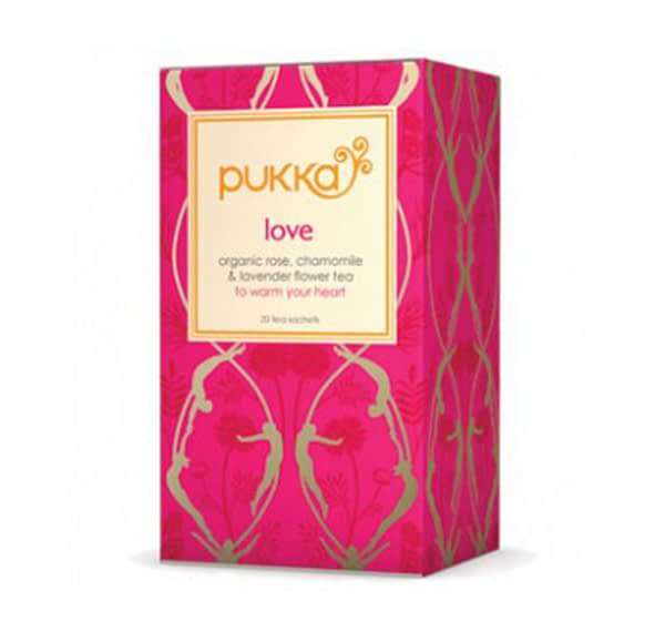 Love – Bio čaj Láska – květ růže a levandule - čajové sáčky